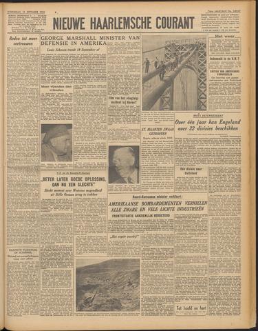 Nieuwe Haarlemsche Courant 1950-09-13