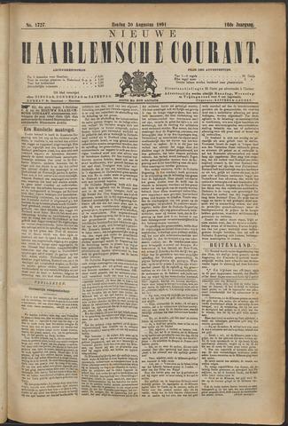Nieuwe Haarlemsche Courant 1891-08-30