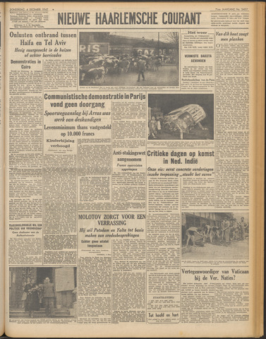 Nieuwe Haarlemsche Courant 1947-12-04