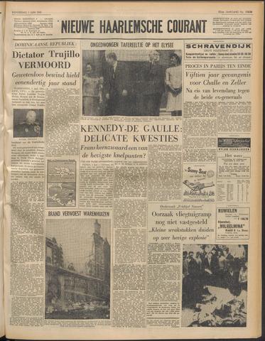 Nieuwe Haarlemsche Courant 1961-06-01