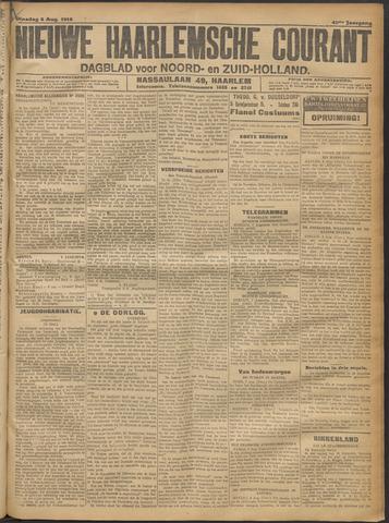 Nieuwe Haarlemsche Courant 1916-08-08