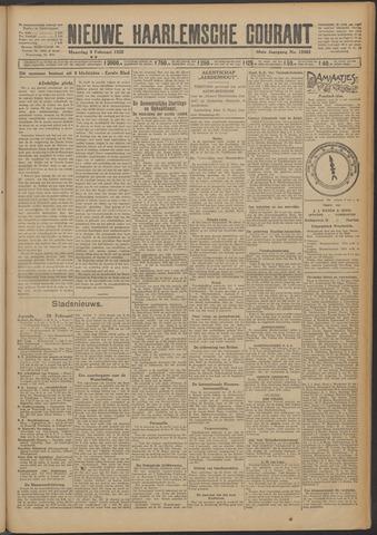 Nieuwe Haarlemsche Courant 1925-02-09