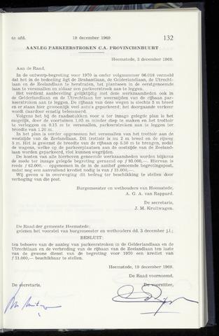 Raadsnotulen Heemstede 1969-12-19