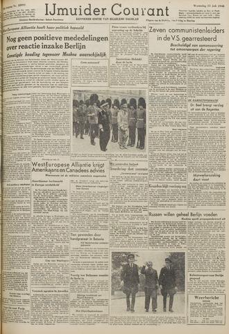IJmuider Courant 1948-07-21