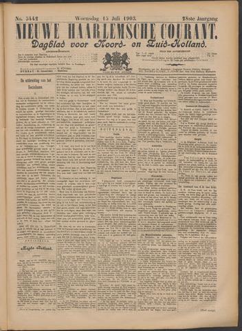 Nieuwe Haarlemsche Courant 1903-07-15