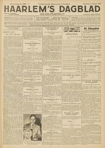 Haarlem's Dagblad 1935-01-03
