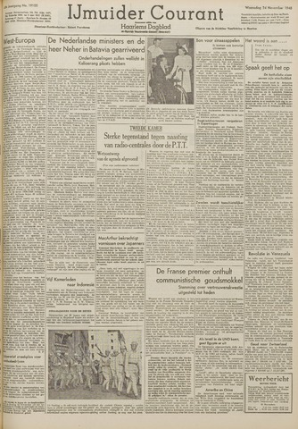IJmuider Courant 1948-11-24
