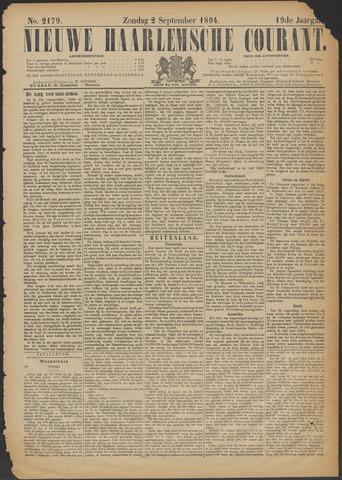 Nieuwe Haarlemsche Courant 1894-09-02