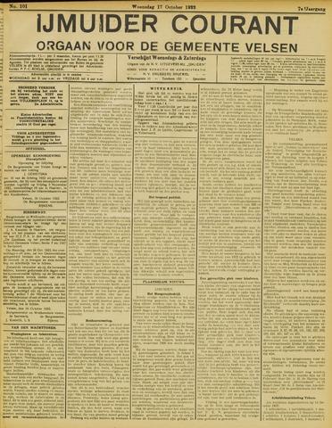 IJmuider Courant 1922-10-18