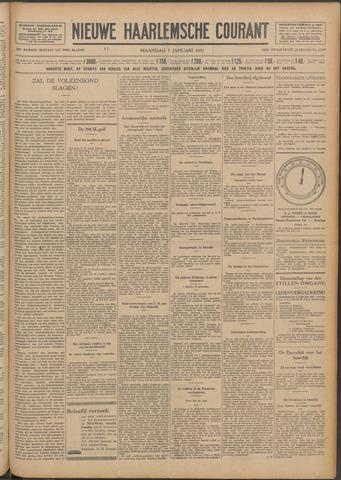Nieuwe Haarlemsche Courant 1931-01-05