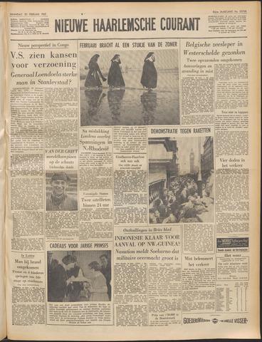 Nieuwe Haarlemsche Courant 1961-02-20