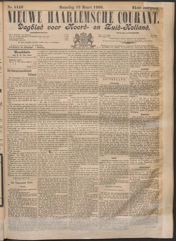 Nieuwe Haarlemsche Courant 1900-03-19