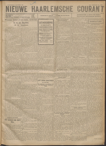 Nieuwe Haarlemsche Courant 1921-10-06