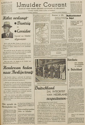 IJmuider Courant 1939-08-28