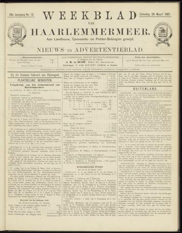 Weekblad van Haarlemmermeer 1887-03-26