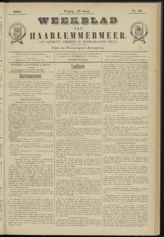Weekblad van Haarlemmermeer 1884-06-13