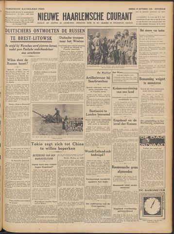 Nieuwe Haarlemsche Courant 1939-09-19