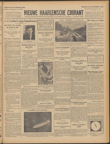 Nieuwe Haarlemsche Courant 1933-11-24