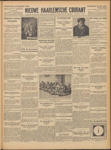 Nieuwe Haarlemsche Courant 1936-05-27