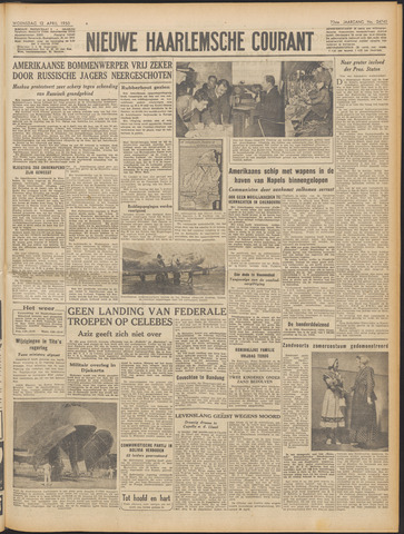 Nieuwe Haarlemsche Courant 1950-04-12