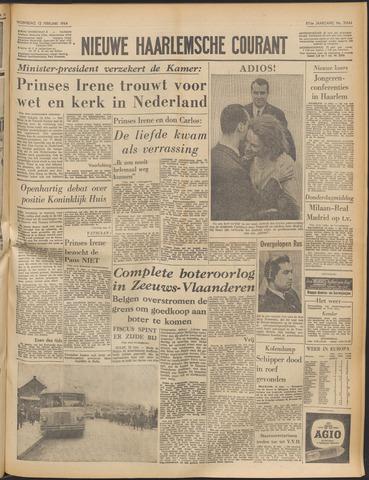 Nieuwe Haarlemsche Courant 1964-02-12