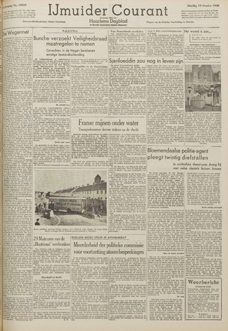IJmuider Courant 1948-10-19