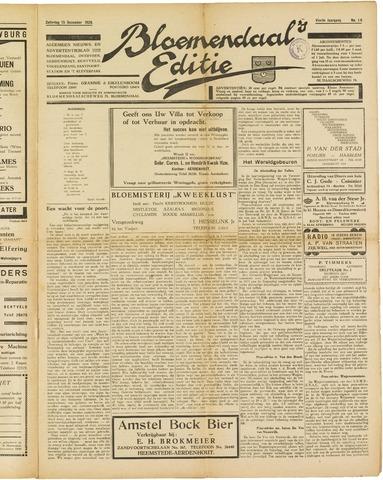 Bloemendaal's Editie 1928-12-15