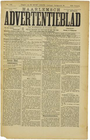 Haarlemsch Advertentieblad 1889-12-25