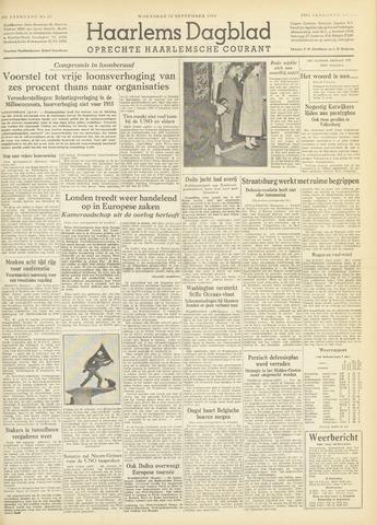 Haarlem's Dagblad 1954-09-15