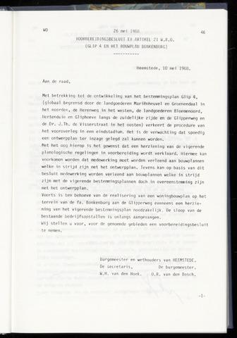 Raadsnotulen Heemstede 1988-05-26