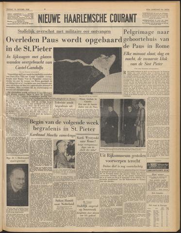 Nieuwe Haarlemsche Courant 1958-10-10