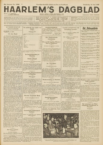 Haarlem's Dagblad 1935-06-13
