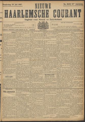 Nieuwe Haarlemsche Courant 1907-07-18