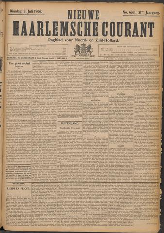 Nieuwe Haarlemsche Courant 1906-07-31