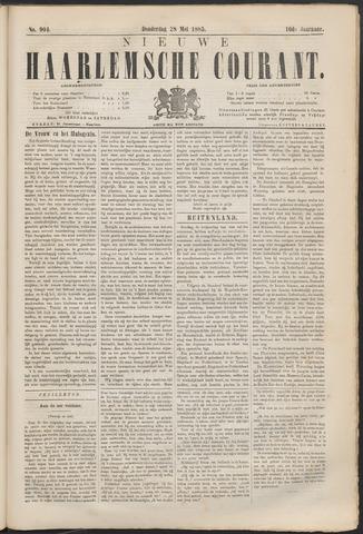 Nieuwe Haarlemsche Courant 1885-05-28