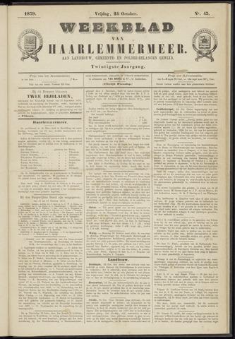 Weekblad van Haarlemmermeer 1879-10-24