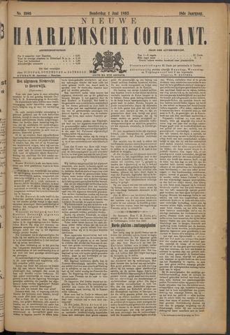 Nieuwe Haarlemsche Courant 1893-06-01