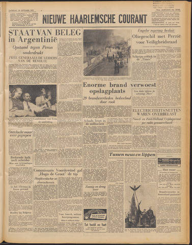 Nieuwe Haarlemsche Courant 1951-09-29