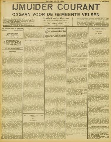 IJmuider Courant 1922-07-15