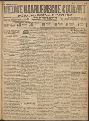 Nieuwe Haarlemsche Courant 1914-07-25