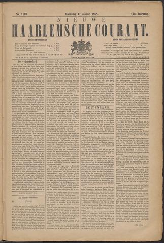 Nieuwe Haarlemsche Courant 1888-01-11