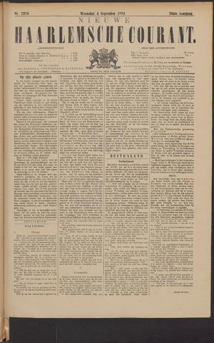 Nieuwe Haarlemsche Courant 1895-09-04