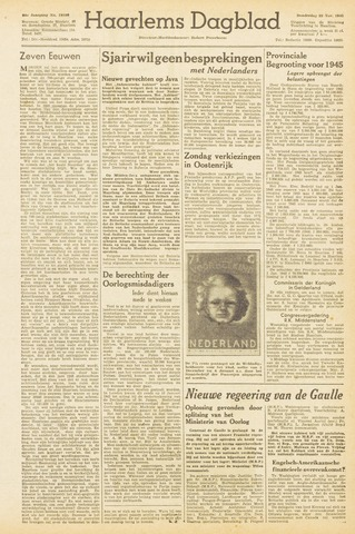 Haarlem's Dagblad 1945-11-22
