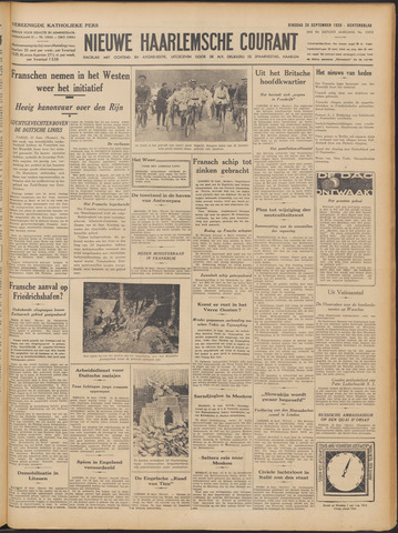Nieuwe Haarlemsche Courant 1939-09-26