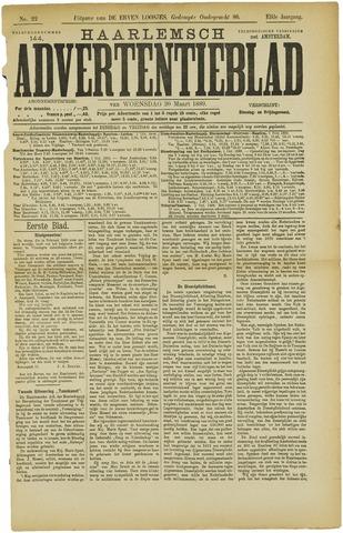 Haarlemsch Advertentieblad 1889-03-20