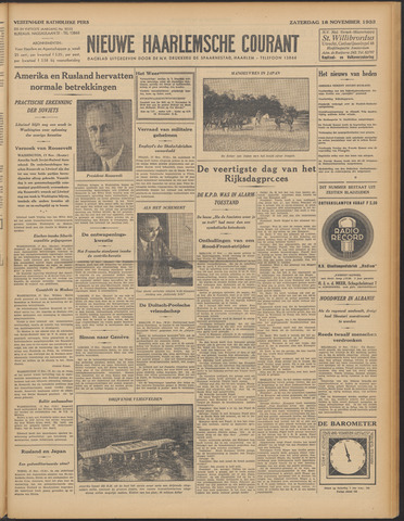 Nieuwe Haarlemsche Courant 1933-11-18
