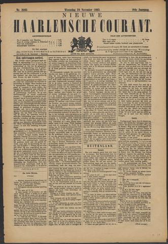 Nieuwe Haarlemsche Courant 1893-11-29