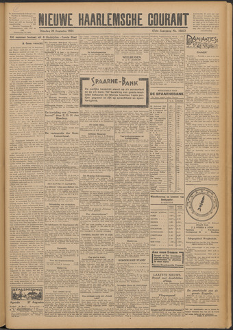 Nieuwe Haarlemsche Courant 1924-08-26