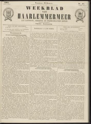 Weekblad van Haarlemmermeer 1864-04-08