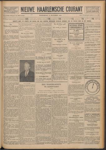 Nieuwe Haarlemsche Courant 1930-10-15